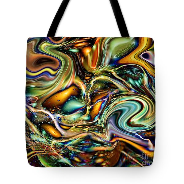 Commotion In The Motion Vii Tote Bag