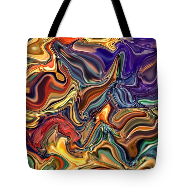 Commotion In The Motion Xvi Tote Bag