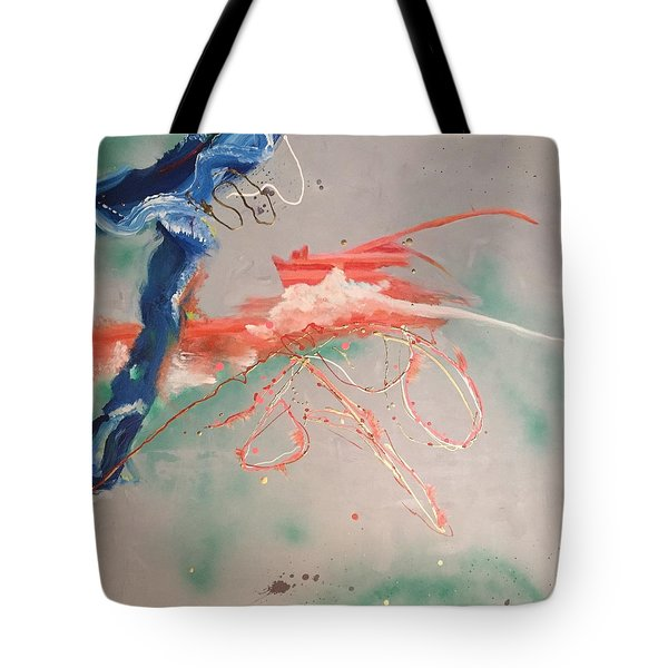 Commotion Tote Bag