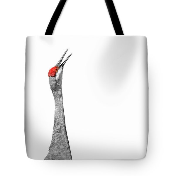 Communications Bwr Tote Bag by John M Bailey