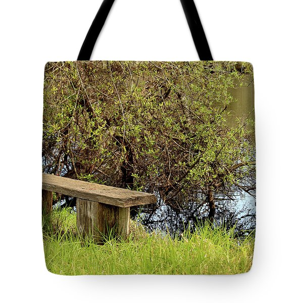 Tote Bag featuring the photograph Communing With Nature by Art Block Collections