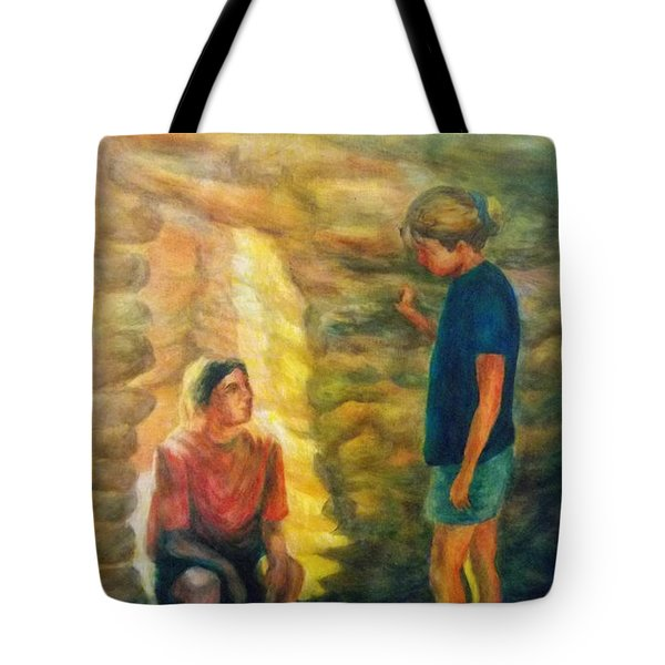 Communion Tote Bag by Becky Chappell
