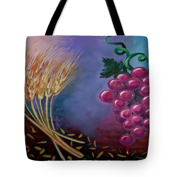 Communion Tote Bag by Kevin Middleton