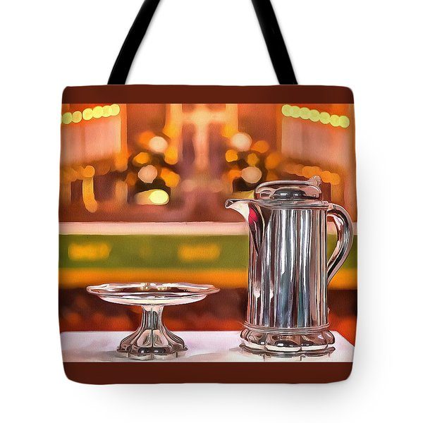 Communion Silver 1800 Tote Bag