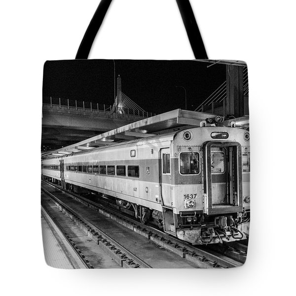 Commuter Rail Tote Bag