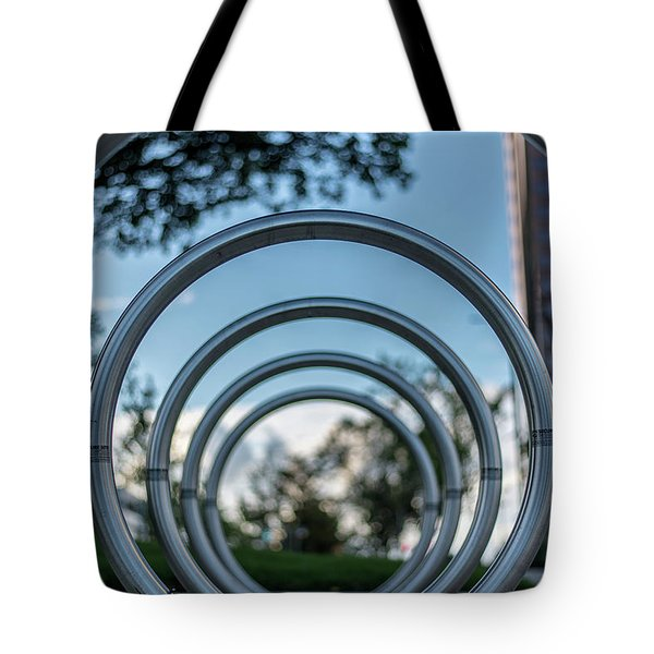 Commuter's Circle Tote Bag
