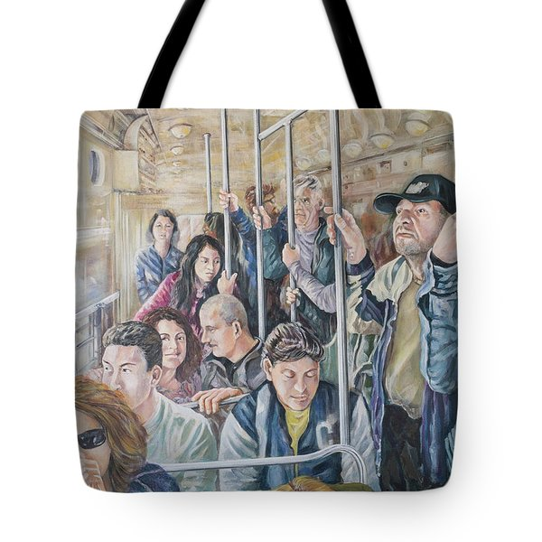 Commuters Tote Bag