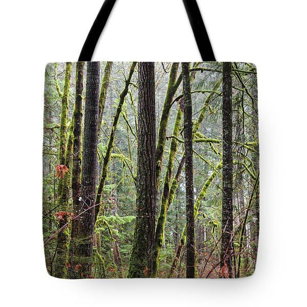 Comox Valley Forest-1 Tote Bag