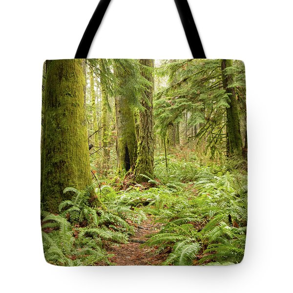 Comox Valley Forrest-5 Tote Bag
