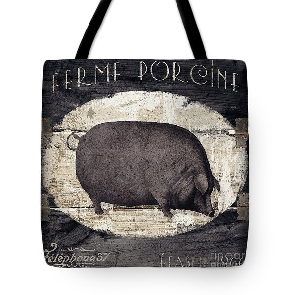 Compagne II Pig Farm Tote Bag