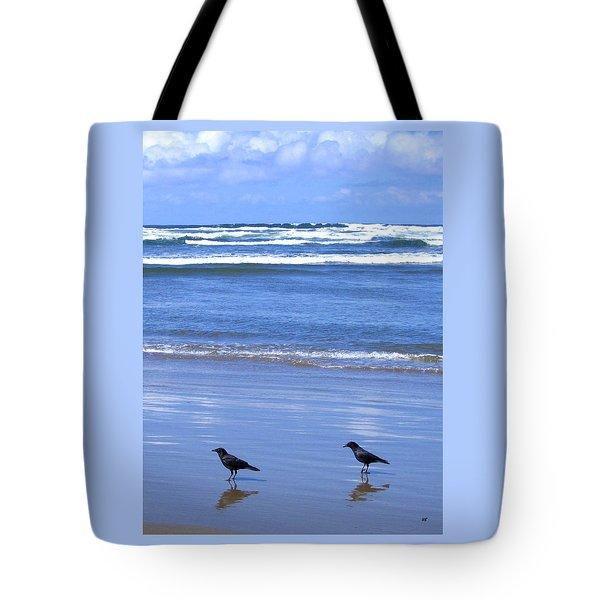 Companion Crows Tote Bag