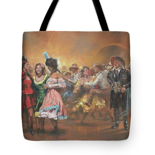 Comparing Notes Tote Bag by Mia DeLode