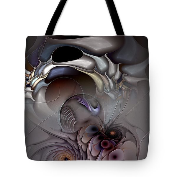 Compartmentalized Delusion Tote Bag by Casey Kotas