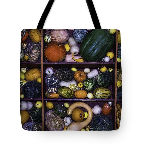 Compartments Of Gourds Tote Bag