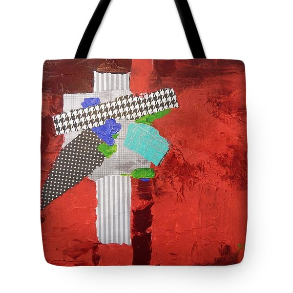 Compass Of Winds Tote Bag by Sue Furrow