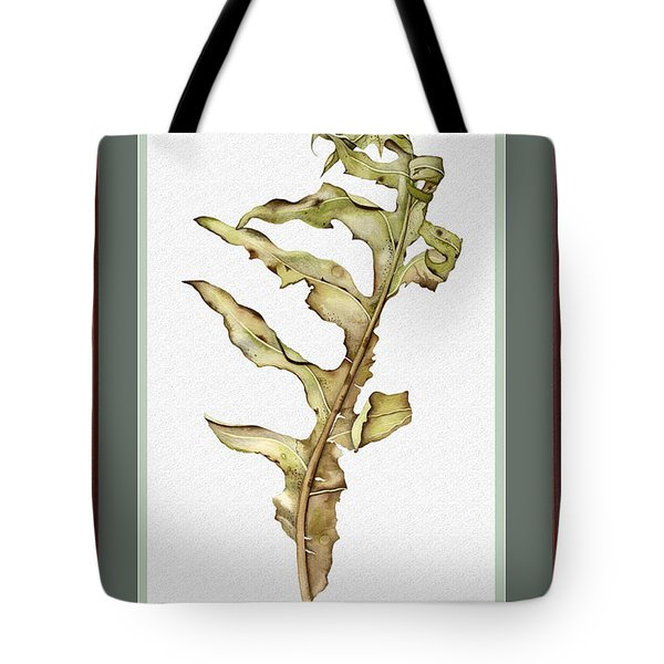 Compass Plant, Fall Tote Bag by Catherine Twomey