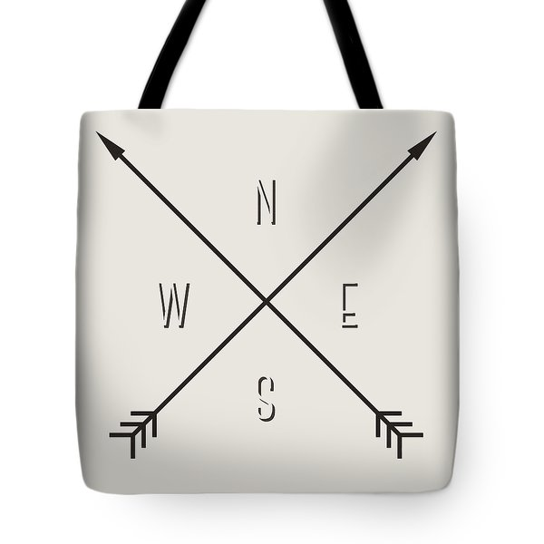 Compass Tote Bag by Taylan Apukovska