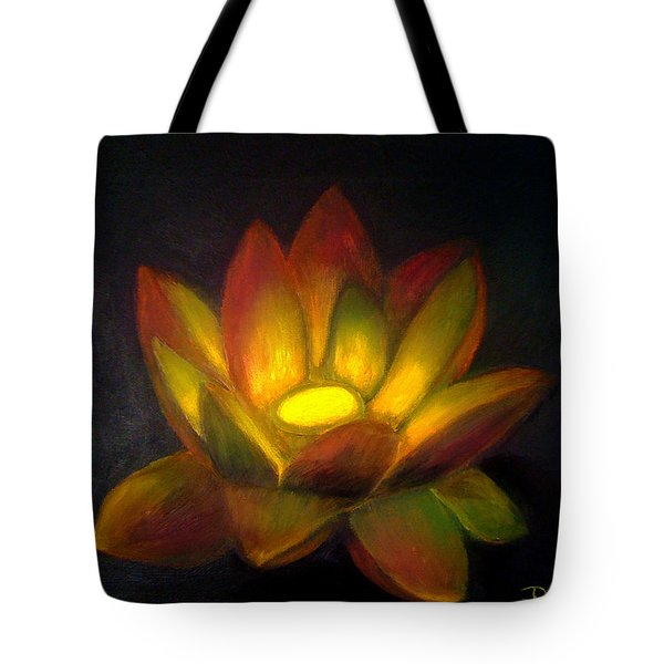 Tote Bag featuring the painting Compassion by Dedric Artlove W