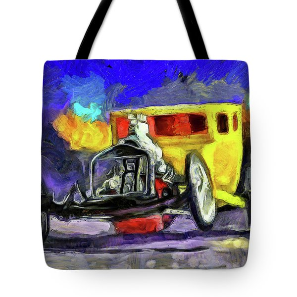 Competition Coupe Van Gogh Tote Bag