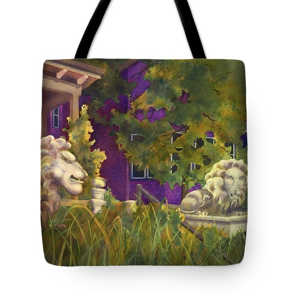 Complaining Lions Tote Bag