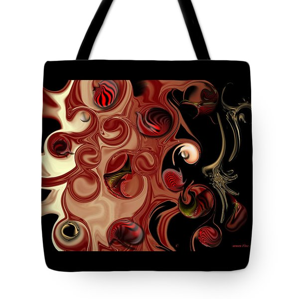 Complex Analysis Tote Bag by Carmen Fine Art