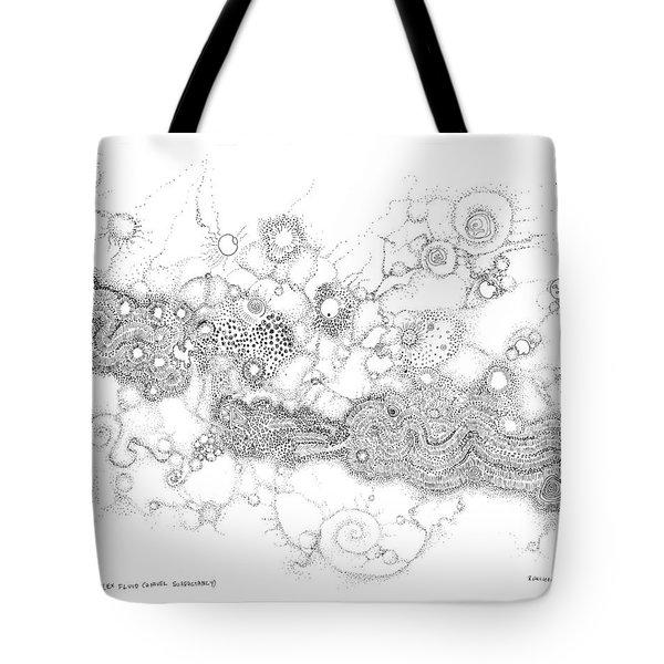Complex Fluid  Tote Bag
