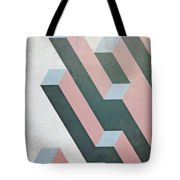 Complex Geometry Tote Bag