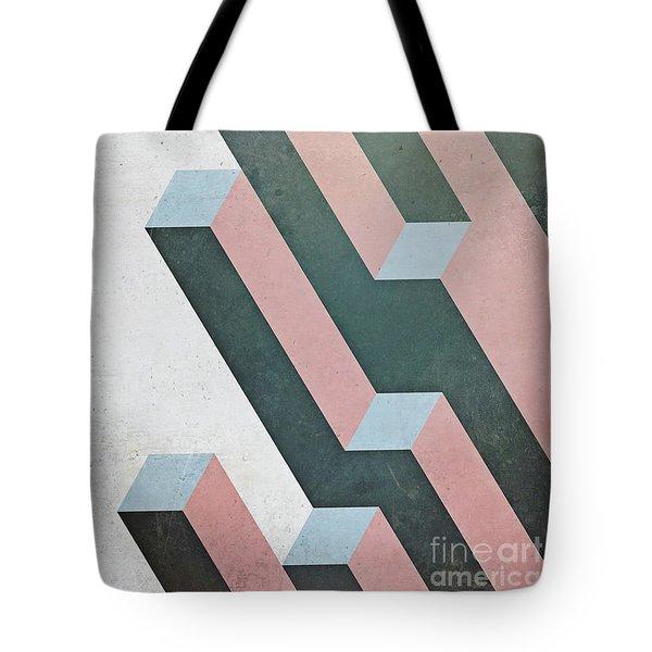 Complex Geometry Tote Bag