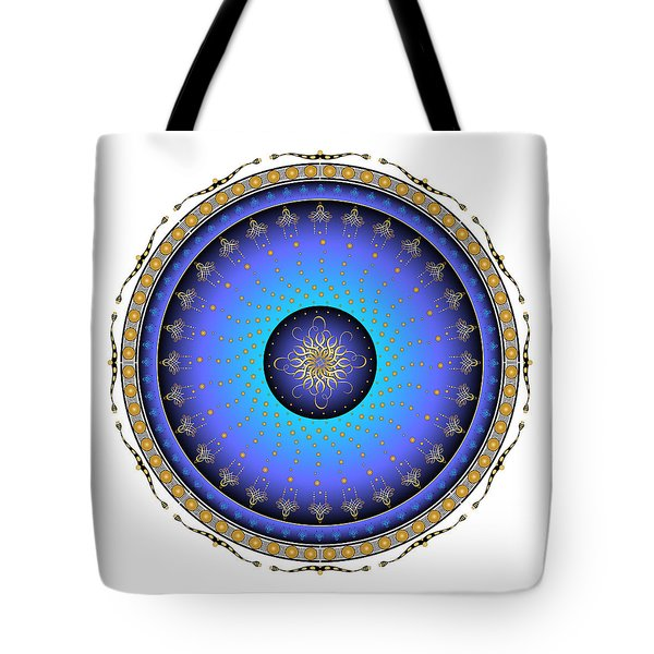 Tote Bag featuring the digital art Complexical No 1733 by Alan Bennington