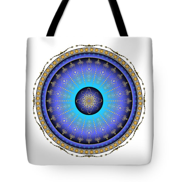 Tote Bag featuring the digital art Complexical No 1734 by Alan Bennington