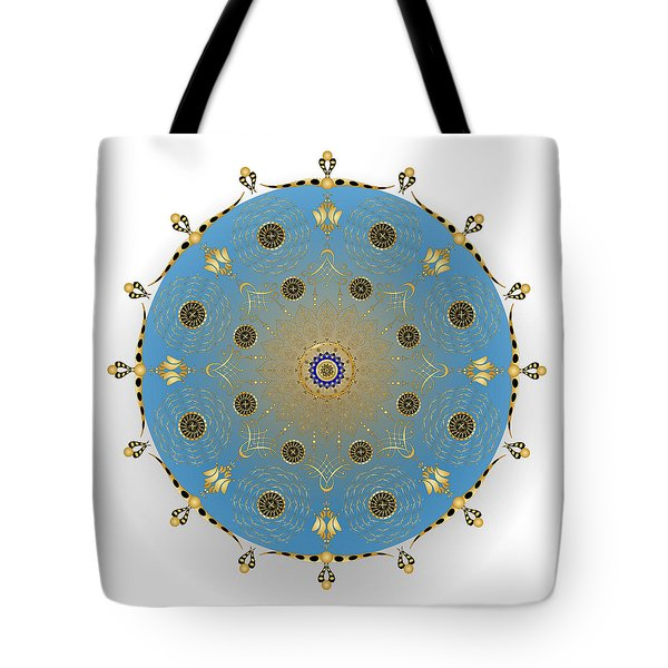 Tote Bag featuring the digital art Complexical No 1736 by Alan Bennington