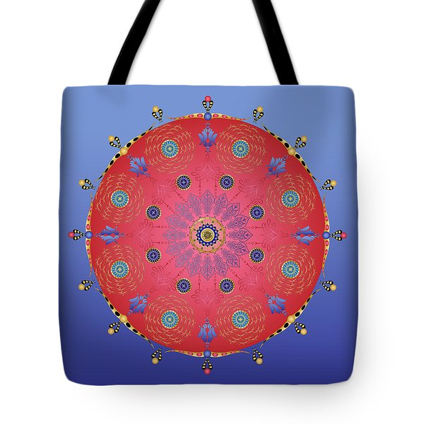 Tote Bag featuring the digital art Complexical No 1737 by Alan Bennington