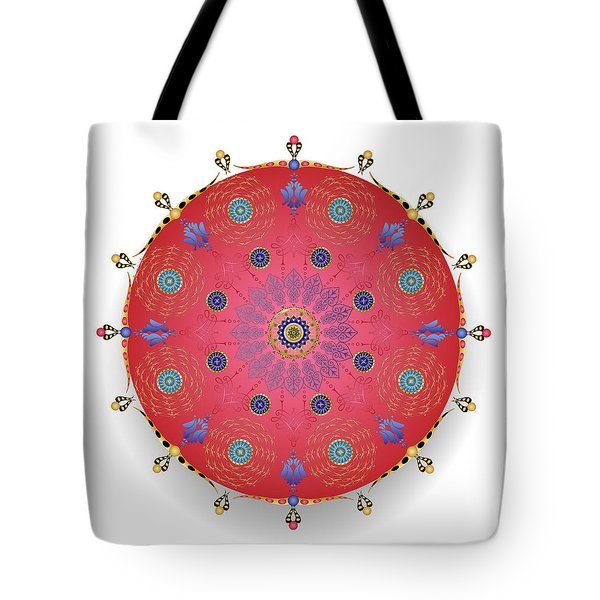 Tote Bag featuring the digital art Complexical No 1738 by Alan Bennington