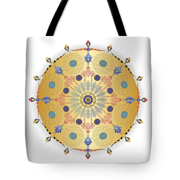 Tote Bag featuring the digital art Complexical No 1740 by Alan Bennington