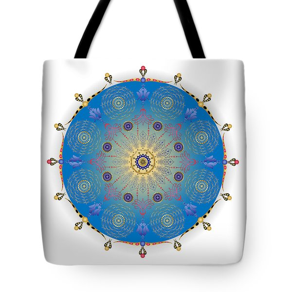 Tote Bag featuring the digital art Complexical No 1741 by Alan Bennington