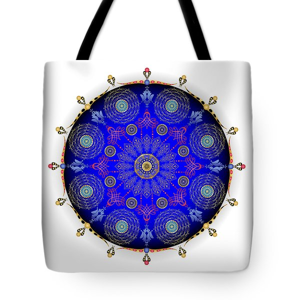 Tote Bag featuring the digital art Complexical No 1742 by Alan Bennington