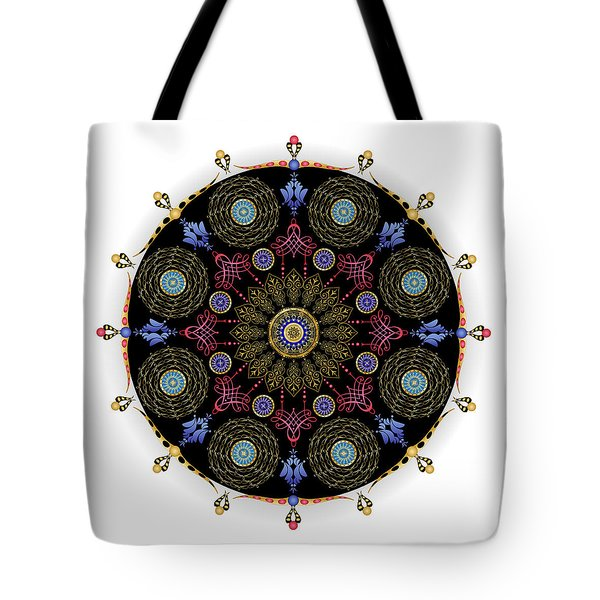 Tote Bag featuring the digital art Complexical No 1743 by Alan Bennington