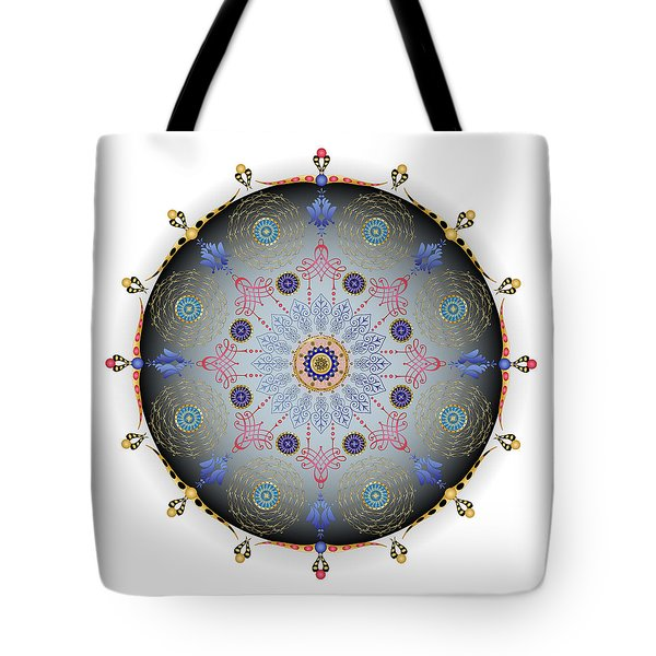 Tote Bag featuring the digital art Complexical No 1744 by Alan Bennington