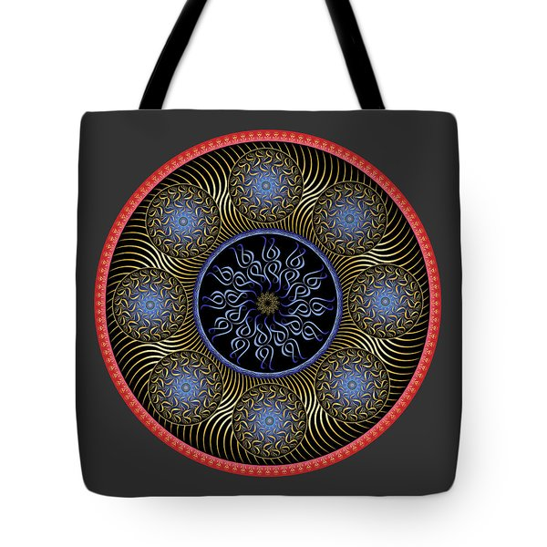 Tote Bag featuring the digital art Complexical No 1754 by Alan Bennington