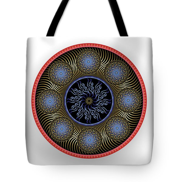 Tote Bag featuring the digital art Complexical No 1755 by Alan Bennington