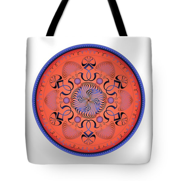 Tote Bag featuring the digital art Complexical No 1760 by Alan Bennington