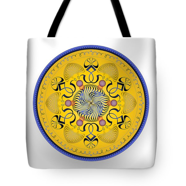 Tote Bag featuring the digital art Complexical No 1762 by Alan Bennington