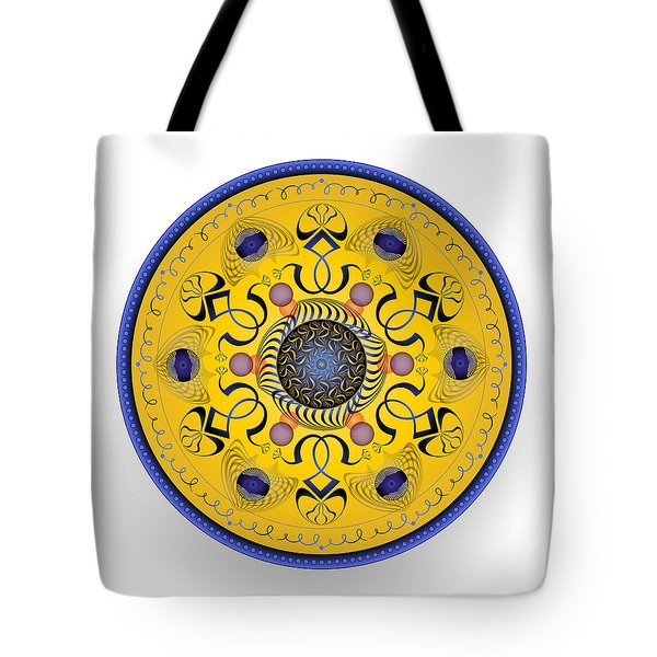 Tote Bag featuring the digital art Complexical No 1763 by Alan Bennington