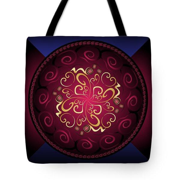Complexical No 2364 Tote Bag by Alan Bennington