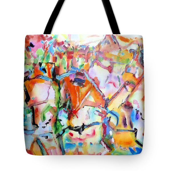 Complicated Landscape Tote Bag