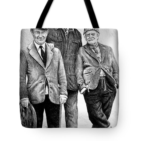 Compo Clegg And Foggy 2 Tote Bag