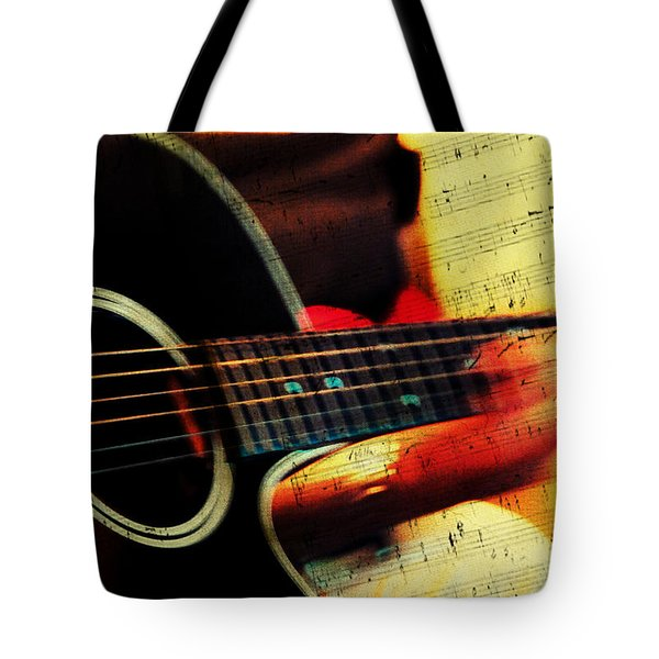 Composing Hallelujah. Music From The Heart  Tote Bag
