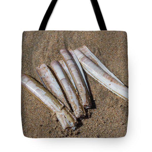 Tote Bag featuring the photograph Composition #1 by Ana Mireles