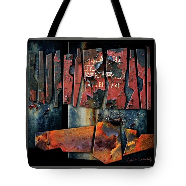 Composition 2 Tote Bag by Joan Ladendorf