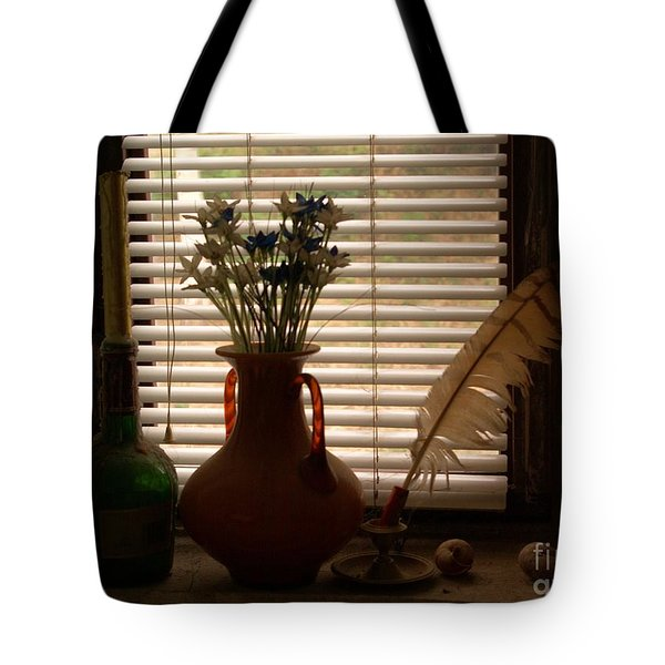 Tote Bag featuring the photograph Composition by AmaS Art
